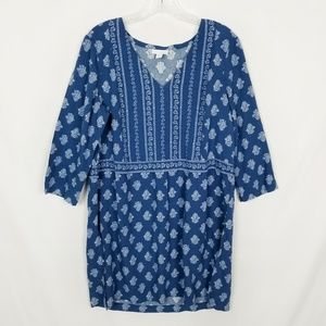 J. Jill | Printed 3/4 Sleeve Tunic